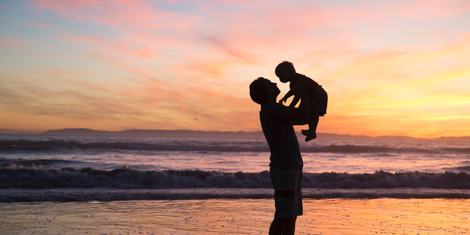 Father-Baby-Beach